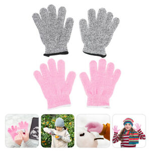 2 Pairs Practical Comfortable Kids Diy Craft Child Hand Protector