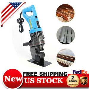 Pro Electro hydraulic Sheet Metal Hole Punch Puncher Press Knockout Metric Die