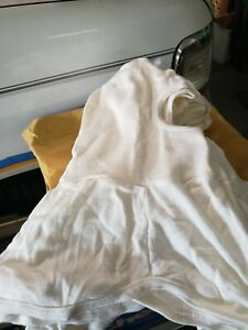National Safety Apparel H31nk Flame Resistant Hood White Nomex Lot Of 4
