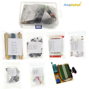Electronic Component Led Diodes Capacitors Mos pnp npn To 92 Resistors Kits