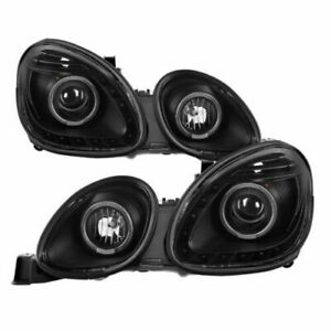 Xtune 9027826 Projector Headlights Black For 98 05 Lexus Gs300 Gs400 Gs430 New
