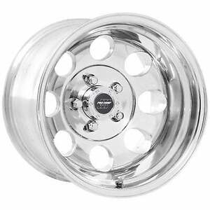 Pro Comp 69 Series Vintage 15x10 Wheel With 5 On 4 5 Bolt Pattern Polished