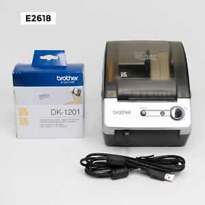 Brother P touch Ql 500 Thermal Label Printer With Dk 1201 Labels E2618