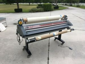Royal Sovereign Rsh 1650h 65 Dual Thermal Cold Wide Format Roll Laminator