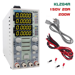 Kl284a 200w 150v 20a Double Channel Dc Electronic Load Meter Led Driver Power Me