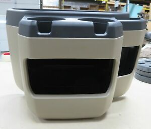 97 15 Ford Econoline Van Tan Center Console Cup Holder