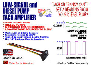 Low Small Signal Tach Tachometer Adapter Amplifier Triggers Down To 0 28v