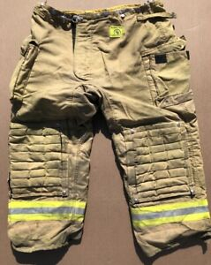 Morning Pride Turnout Bunker Pants Fire Fighting Firefighter Gear 46 X 30