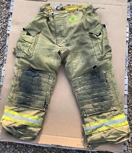 Morning Pride Turnout Bunker Pants Fire Fighting Firefighter Gear 46 X 32