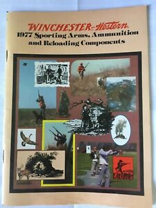 1977 Winchester Western Sporting Arms Ammunition amp; Reloading Booklet $5.00