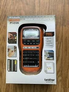 New Brother P touch Edge Pt e105 Electrical Cable And Wiring Label Maker