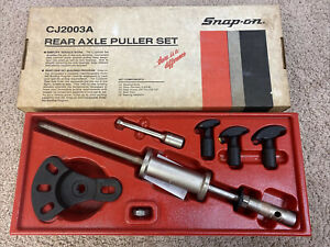 Snap On Tools Cj2003a Slide Hammer Rear Axle Bearing Puller Set With Box Nice