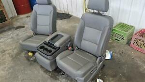 2015 2019 Sierra Silverado 2500 3500 Front Seat Bucket And Bench Seat Opt Ae7