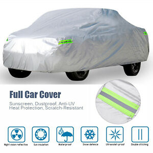 Full Pickup Truck Car Cover Waterproof Uv Resistant Snow Dust Protector For Ford