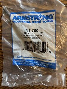 Armstrong Industrial Hand Tools 11 750 3 8 Drive 6 1 4 Oal 5 Hex Bit 5 32