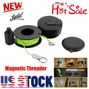 Magnetic Threader Professional Wiremag Puller Wire Cable Running Device Qf