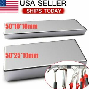 50mm Big Block Magnets Super Strong N52 Neodymium Large Magnet Rare Earth
