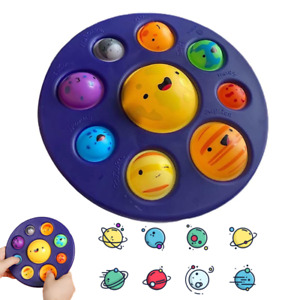 Eight Planets Solar System Simple Dimple Fidget Sensory Toy Stress Relief Baby