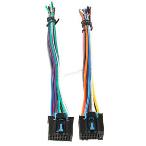 Car Factory Stereo Radio Male Wire Harness For Chevrolet For Gmc Pontiac Buick