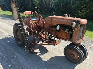 Allis Chalmers C Tractor Narrow Front End Sickle Bar Mower
