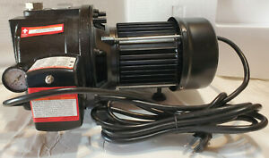 1 Hp Water Well Pump W Pressure Control On Off Switch Cast Iron 1350 Gph 12amp
