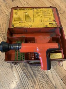 Hilti Dx350 Powder Actuated Fastening Extras Cleaned Tested working Complete