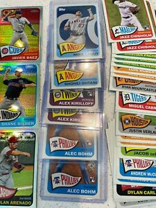 2021 Topps Series 2 1965 Redux Base amp; Chrome You Pick Buy more and save $3.99