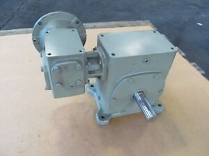 Sterling Electric Inc 2000ra 2300dwaq500562 Double Reduction Speed Reducer