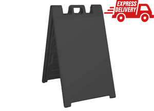 Signicade Portable Folding Plastic A Frame Sidewalk Store Sign Stand