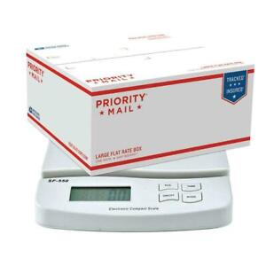 55lb X 0 01lb Digital Kitchen Scales Packaging Shipping Postal Scale 25kg 1g Lcd