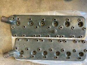 1940 1941 Lincoln V 12 Cast Iron Heads H Series Engine Planed