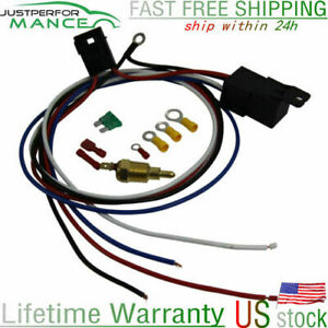 Hot Selling Electric Radiator Engine Fan Temperature Switch Thermostat Relay Kit