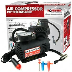 Heavy Duty 12v Air Compressor Car 300psi Tyre Pump Inflator Electric Compact