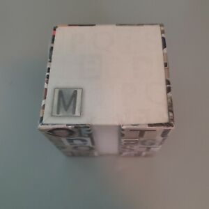 Sealed New 3x3 Memo Cube 700 Sheets With Holder For Notetaking Free Ship