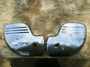 Vintage 1940s Ford Car Truck Wing Tip Bumper Guard Wraps