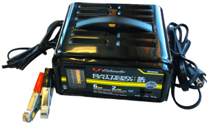 Schumacher Auto Manual Battery Charger Se 82 6 6 2 Amp 6 12v Clean