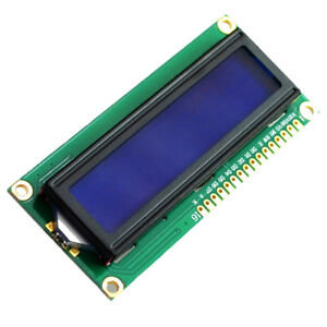 1602a Blue Lcd Display Module Led 1602 Backlight 5v For Arduino Ey