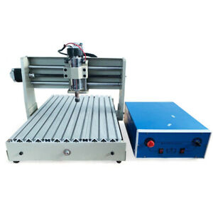 220v 3axis 3040t Cnc Router Engraver Cutter Drilling Machine Milling Metal Wood