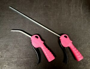 New Snap On Pink 300mm 5in Blow Gun 1 4 Air Inlet