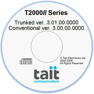 Tait T2000ii Series Programming Software Trunked And Conventional Version 3