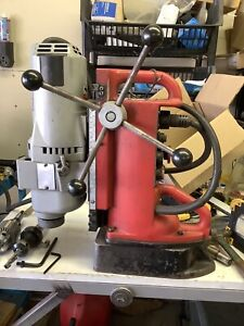 Milwaukee 4297 1 Electromagnetic Drill Press Variable Speed Position Magnetic