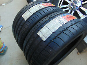 Two New Old Stock 255 35 18 Michelin Pilot Sport Ps2 Tires 94y Date 2009