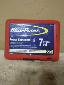 Blue Point Snap On Power Bolt Extractor Set Bet7 1 4 Shank