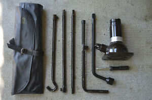 Toyota 4runner Truck Full Jack And Tool Kit 2003 09 Oem Parts 7 Piece Set