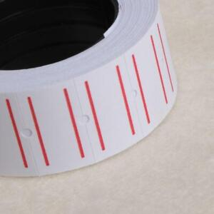 1 Roll 500 Labels White Self Adhesive Price Label Tag Sticker Office Supplies