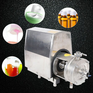 High Shear Emulsion Pump For Chemical Mixing Dispersion Emulsification 1500w