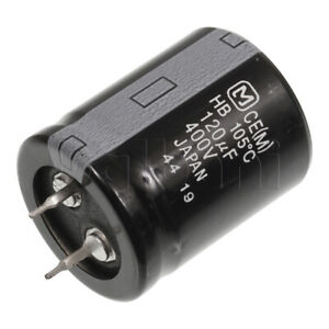 400v 120uf 25x30mm 105c Snap In Capacitor Pan