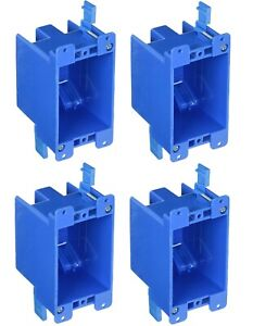 4 Pack B114r 1 gang Old Work 14 Cu In Switch Outlet Electrical Box