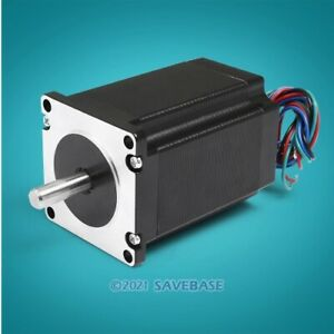 Engmate Nema 23 Stepper Motor 278oz in 2 phase 4a For Cnc Mill Router Cutter