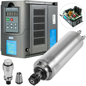 3kw Water cooled Spindle Motor 13a Variable Frequency Drive Inverter Vfd 220v